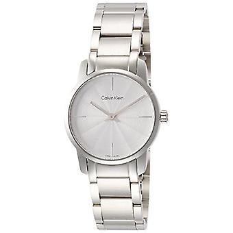Calvin Klein ladies Quartz analogue watch with stainless steel band K2G23146