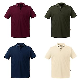 Russell Mens Pure Organische Polo