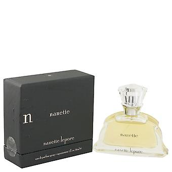 Nanette Eau De Parfum Spray przez Nanette Lepore 1 uncji Eau De Parfum Spray
