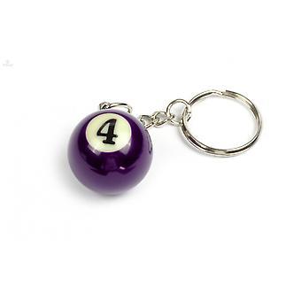 Keychain/Key Chain billiard Ball (NO #4)