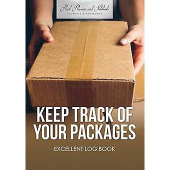 Keep Track of Your Packages Excellent Log Book by Flash Planners and Notebooks