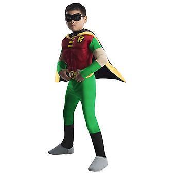 Deluxe spier borst Robin. Grootte: peuter