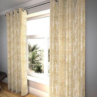 Mcalister Textilien strukturiertchen Chenille Beige Creme Vorhänge