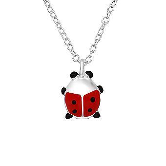 Ladybug - 925 قلادة فضية الجنيه الاسترليني - W35571x