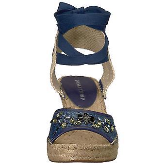 Ivanka Trump Womens Dalyna Fabric Open Toe Casual Espadrille Sandals