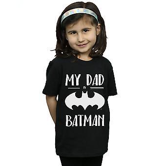 DC Comics Girls Batman My Dad Is Batman T-Shirt