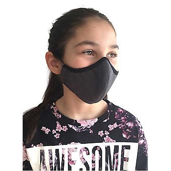Washable Grey Mask For Children - Adults, Mouth Guard