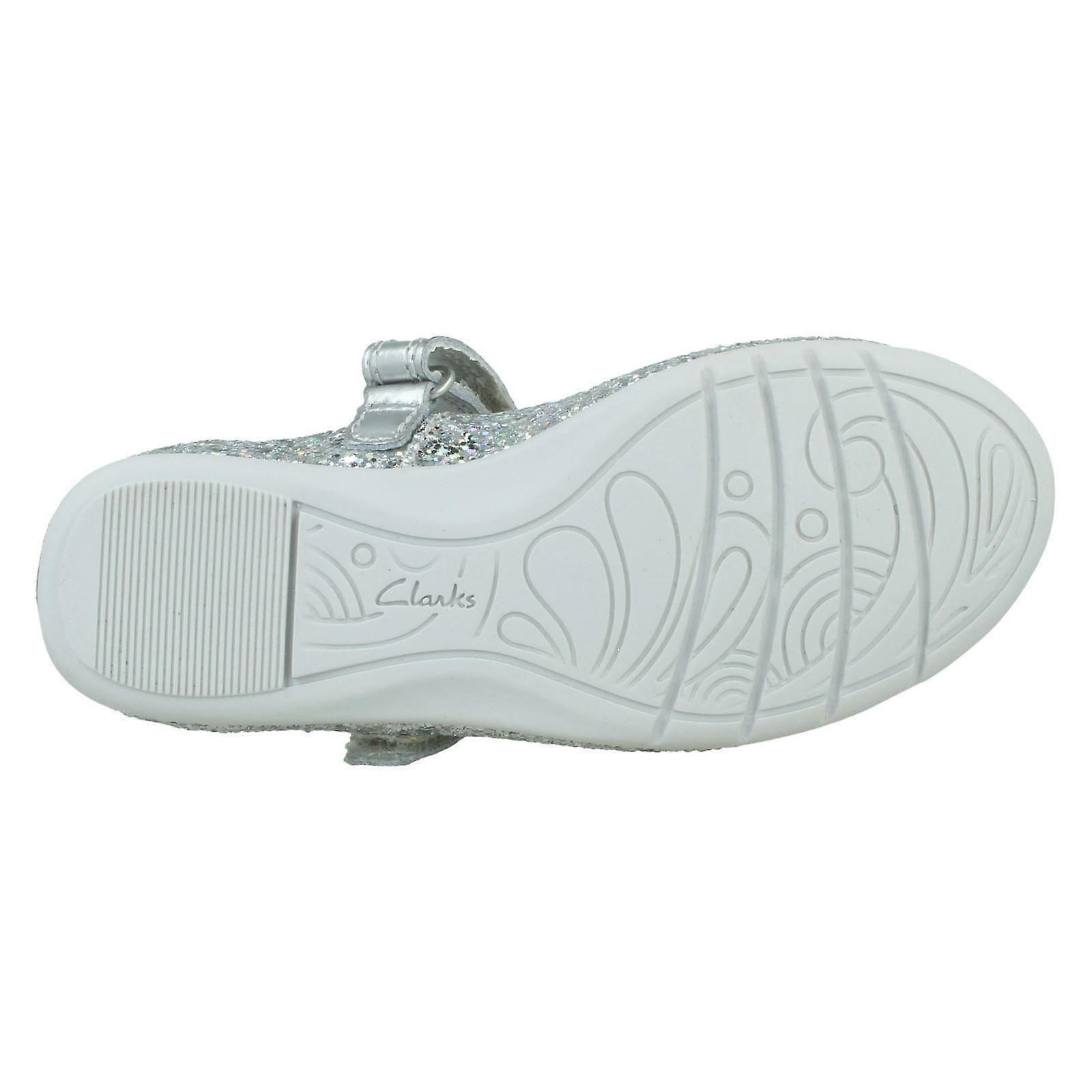 Girls Clarks Casual Flat Shoes Dance Tap