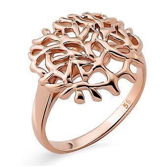 Orphelia Silver 925 Ring with Rose Gold plated