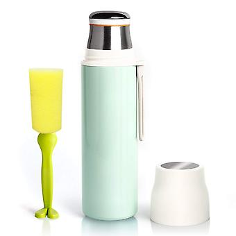 YesHom 16oz/480ml Stainless Steel Water Bottle Vacuum Insulated Leak Proof Double Walled 12hrs Hot 24hrs Cold Sport