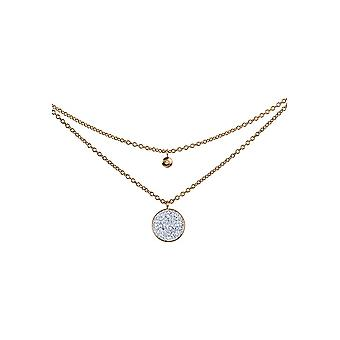 Jacques Lemans - Necklace with Swarovski crystals - S-C80C