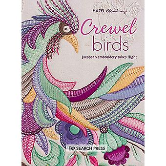 Crewel Birds - Broderie jacobine prend son envol par Hazel Blomkamp - 97
