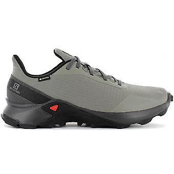 Salomon ALPHACROSS GTX - GORE-TEX - Zapatos de Senderismo para Hombre Gris 408055 Zapatillas Deportivas