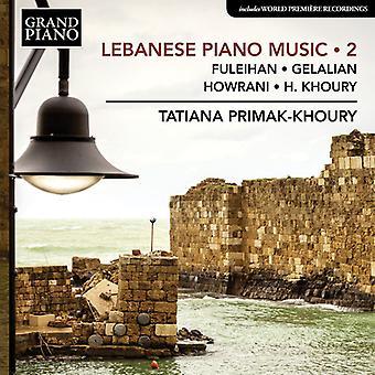 Lebanese Piano Music 2 [CD] USA import
