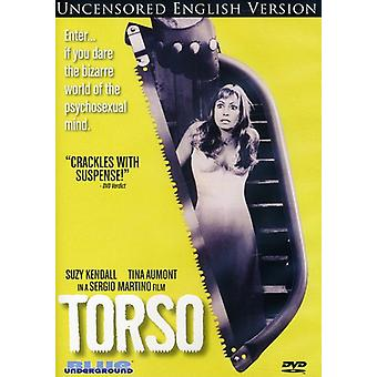 Torse (Uncensored Version anglaise) [DVD] USA import