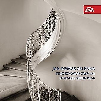 Zelenka / Veverka / Cernohorsky - Trio Sonatas Zwv 181 [CD] USA import