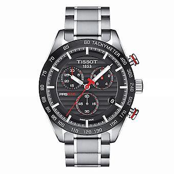 Tissot T100.417.11.051.01 Chronograph Black Dial Men's Horloge