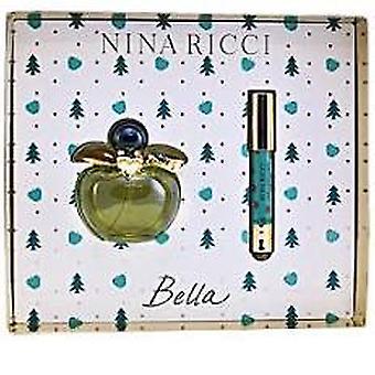 Nina Ricci Bella Gift Set 80ml EDT + 100ml Body Lotion