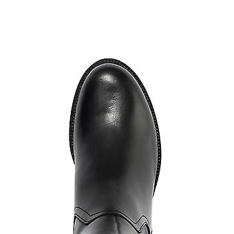 Jones bootmaker naisten nahka polvi korkea ratsastaja boot