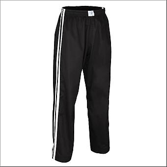 Bytomic Kids Double Stripe contact Pant Zwart/wit