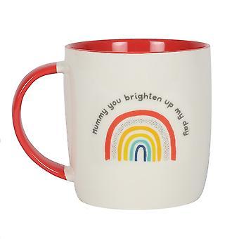 Something Different Mummy You Brighten Up My Day Mug
