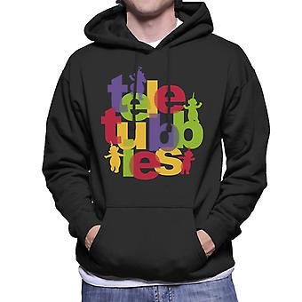 Teletubbies Retro Logo Men's Hooded Sweatshirt