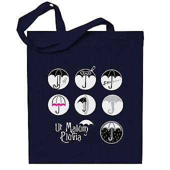 The Umbrella Academy Character Logos Totebag