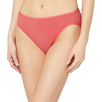 Essentials Women's 6-Pack Cotone High Cut Bikini Underwear, Pretty Pop...