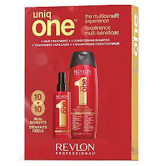 Revlon Uniq One All In One Hair Treatment Gift Set 300ml Szampon + 150ml Klasyczna pielęgnacja włosów