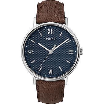 TW2T34800, Klassische Southview Timex Style Herrenuhr / Blau