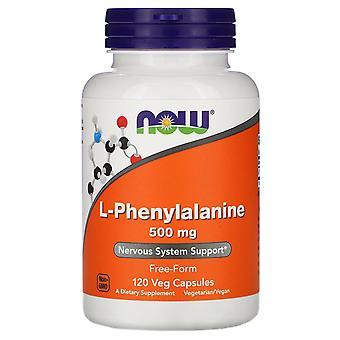 Nu Foods, L-Phenylalanine, 500 mg, 120 Vegetarisch Capsules