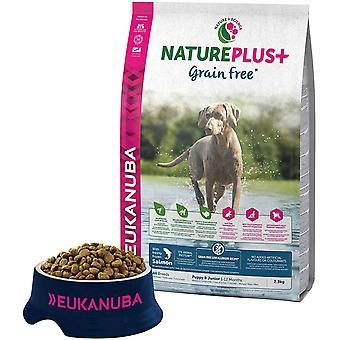 Eukanuba Nature Plus Puppy & Junior Grain Free Salmon - 2,3kg