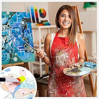 شخصية صورة مخصصة رسم صورة DIY بواسطة أرقام قماش التلوين بواسطة أرقام زيت الطلاء الاكريليك لوحات من قبل الأرقام