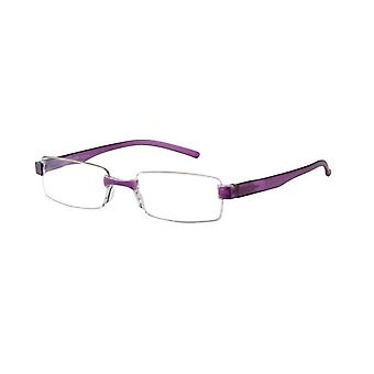 Reading glasses Unisex Le-0184F Toulon violet thickness +1.00