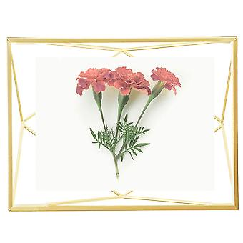 Umbra Prisma Photo Frame 4 X 6 Matte Brass