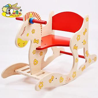 Wooden Rocking Horse- Infant Educational Toy 1-5 Year Old Gift (1)