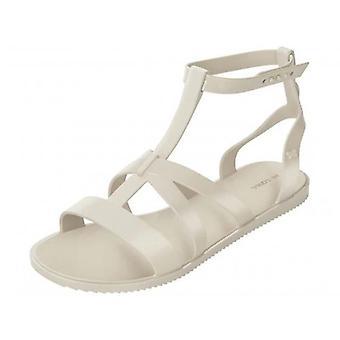 Zaxy Dual Womens Gladiator Sandals - Ivory