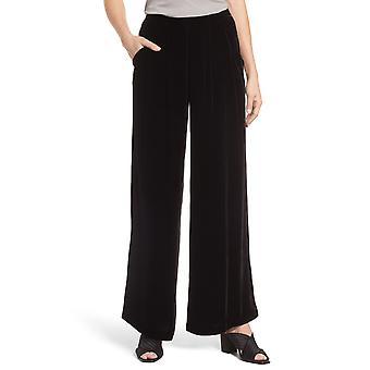 Eileen Fisher | Velvet Wide Leg Ankle Pants