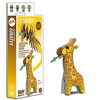 EUGY Giraffe  - 3D Craft Kit