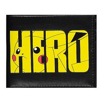 Pokemon Pikachu Olympics Hero Bi-fold Wallet Male Black (MW780464POK)