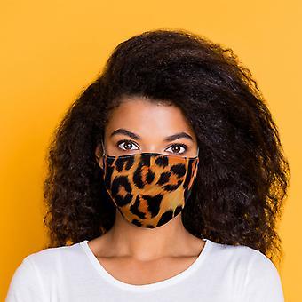 Revêtement de visage réutilisable d'impression animale - Grand paquet x 1