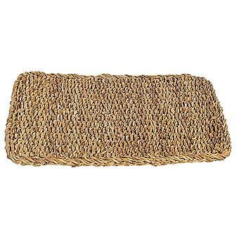 Gewebte Wasser Hyazinth Esstisch Servieren Trivet Matte - rechteckig - Typha - 450 x 350mm