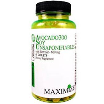 Maximum International Avocado300 Soy Unsaponifiables with Sierrasil, 60 Tabs