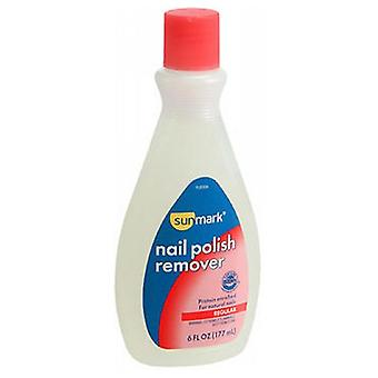 Sunmark Nail Polish Remover, Regular 6 oz