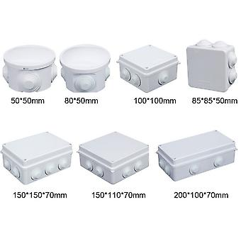 Abs Plastic Ip65 Ip66 Waterproof Junction Box Diy Outdoor Electrical Connection Box -cable Branch Box