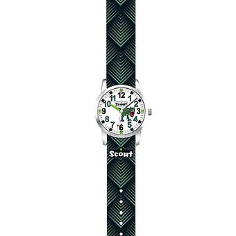Scout Kids Watch Learning Clock Up! - Black Dino Boy Clock 280310009