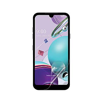 Celicious Vivid Flex Invisible Glossy 3D Screen Protector Film Compatible with LG K31 [Pack of 3]