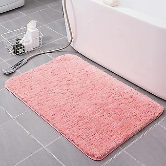 Super Absorbent Cotton Fiber Bath Mat - Bathroom Carpets And Rugs - Floor Mat