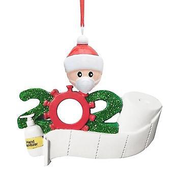 Karantina Noel Asılı Noel Baba Süs