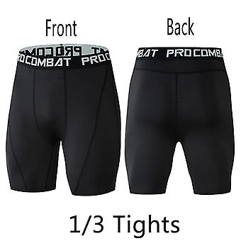 Hombres Compression Pants Sport Tights Leggings Running Gym Fitness Quick Dry Fit